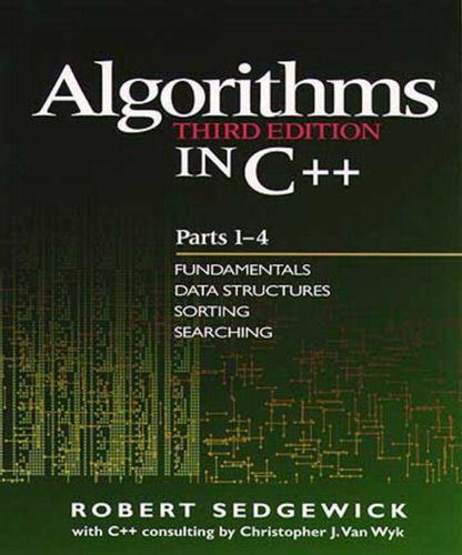 9780201350883 Algorithms in C++, Parts 1-4