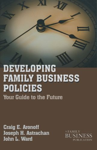 9780230111097 Developing Family Business Policies