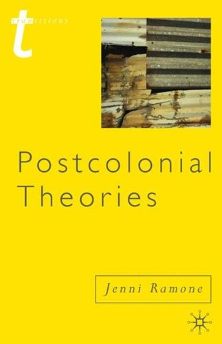 9780230243033 Postcolonial Theories