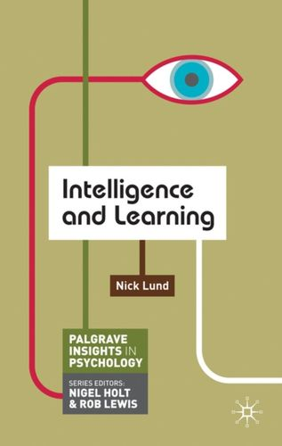 9780230249448 Intelligence and Learning