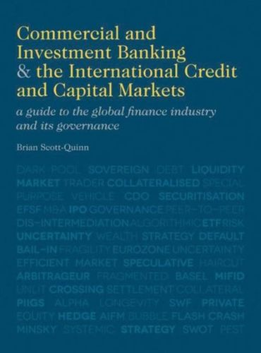 9780230370470 Commercial and Investment Banking and the International Credit and Capital Markets