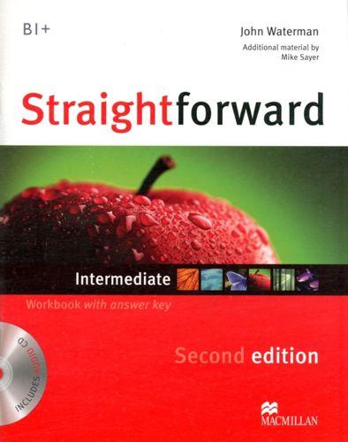 9780230423268 Straightforward 2nd Edition Intermediate Level Workbook with key & CD Pack
