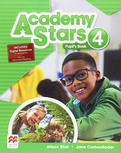 9780230490116 Academy Stars Level 4 Pupil's Book Pack