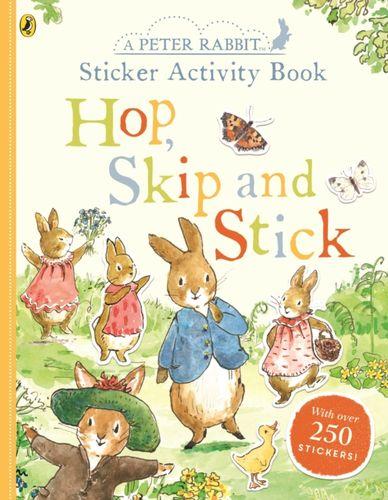 9780241371749 Peter Rabbit Hop, Skip, Stick Sticker Activity