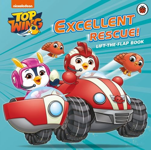 9780241385104 Top Wing: Excellent Rescue, A Lift-the-Flap Book
