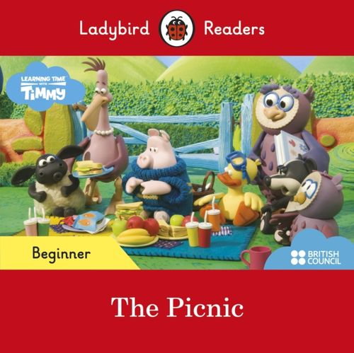 9780241440032 First Words with Timmy: The Picnic - Ladybird Readers Beginner Level