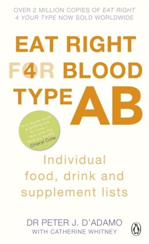 9780241954393 Eat Right for Blood Type AB