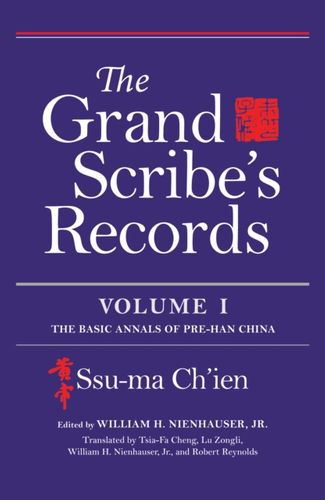 9780253038555 Grand Scribe's Records, Volume I