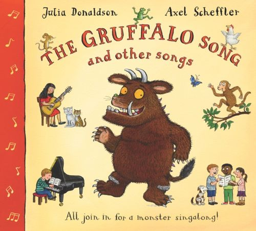 9780330448437 Gruffalo Song and Other Songs Book and CD Pack