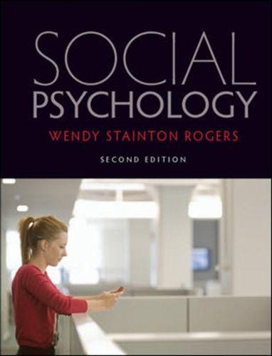 9780335240999 Social Psychology