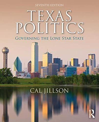 9780367028121 Texas Politics