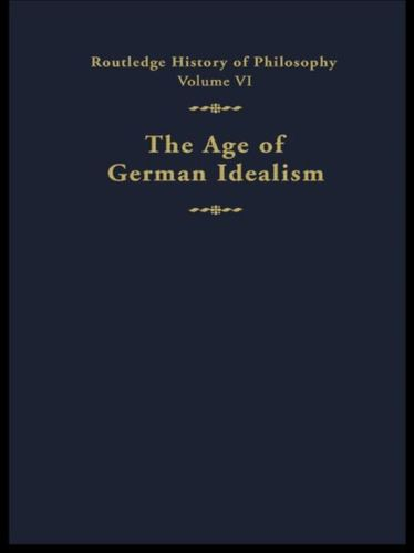 9780415056045 Age of German Idealism