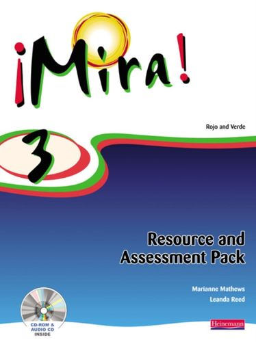 9780435393649 Mira 3 Resource and Assessment Pack
