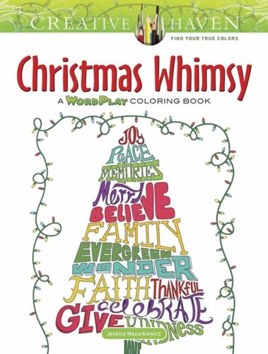 9780486813752 Creative Haven Christmas Whimsy