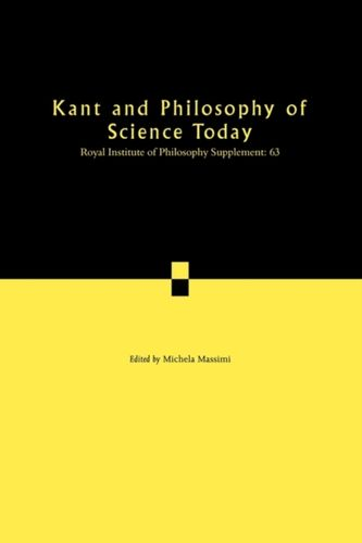 9780521748513 Kant and Philosophy of Science Today