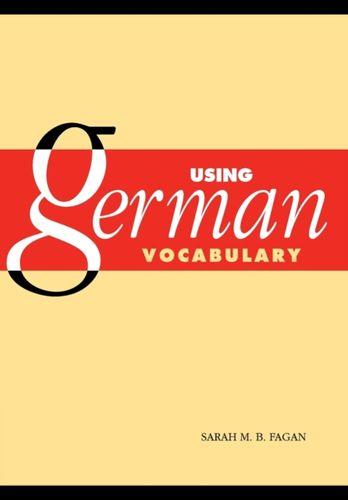 9780521797009 Using German Vocabulary