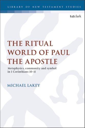 9780567695192 Ritual World of Paul the Apostle