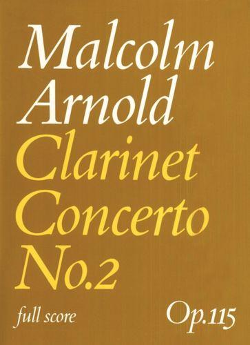 9780571507979 Clarinet Concerto No.2