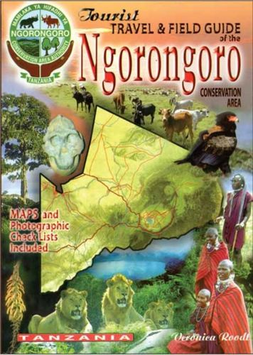 9780620341912 tourist travel & field guide of the Ngorongoro
