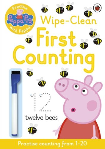9780723297765 Peppa Pig: Practise with Peppa: Wipe-Clean Counting
