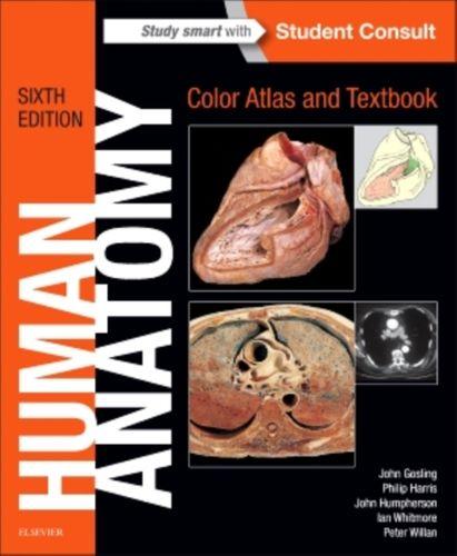9780723438274 Human Anatomy, Color Atlas and Textbook