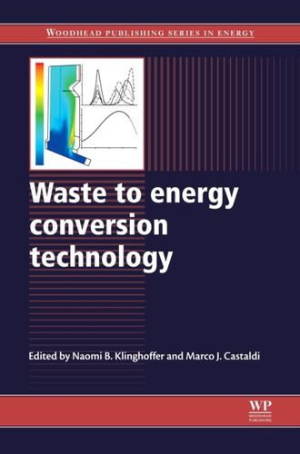 9780857090119 Waste to Energy Conversion Technology