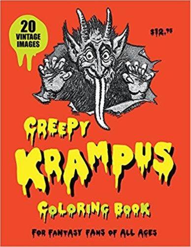 9780867198621 Creepy Krampus Coloring Book