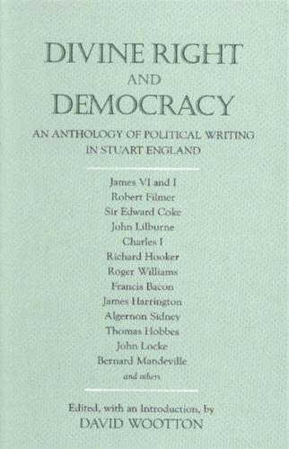 9780872206533 Divine Right and Democracy
