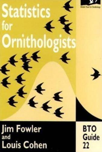 9780903793551 Statistics for Ornithologists