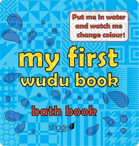 9780957636422 My First Wudu Book: Baby Bath Book