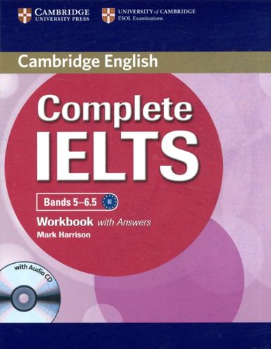9781107401976 Complete IELTS Bands 5-6.5 Workbook with Answers with Audio CD