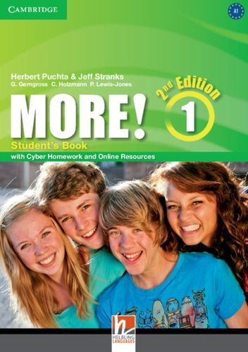 9781107656451 More! Level 1 Student's Book with Cyber Homework and Online Resources