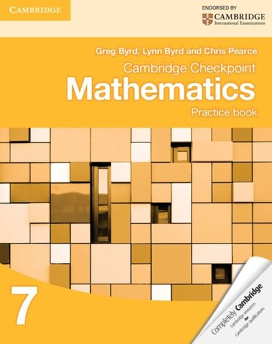 9781107695405 Cambridge Checkpoint Mathematics Practice Book 7