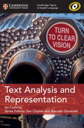 9781108401111 Text Analysis and Representation