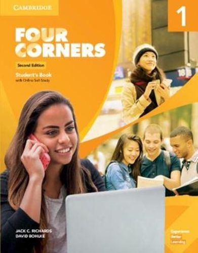 9781108659611 Four Corners Level 1 Student's Book with Online Self-Study