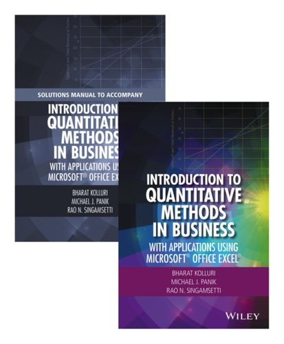 9781119221074 Introduction to Quantitative Methods in Business