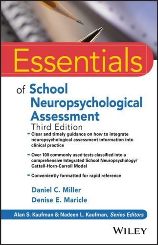 9781119533207 Essentials of School Neuropsychological Assessment
