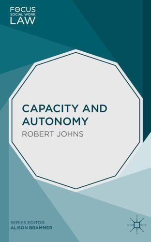 9781137286451 Capacity and Autonomy