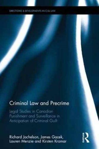 9781138055339 Criminal Law and Precrime