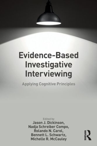 9781138064690 Evidence-based Investigative Interviewing