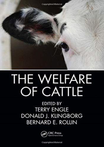 9781138197060 Welfare of Cattle
