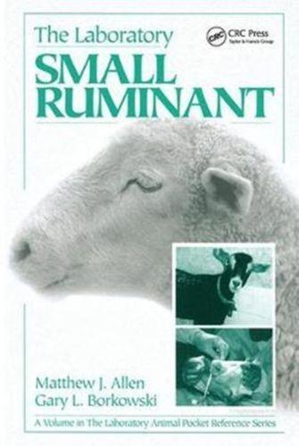 9781138437265 Laboratory Small Ruminant