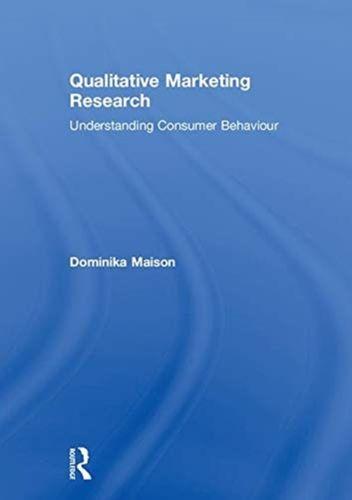 9781138607743 Qualitative Marketing Research