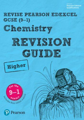 9781292131924 Revise Edexcel GCSE (9-1) Chemistry Higher Revision Guide