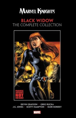 9781302914004 Marvel Knights: Black Widow By Grayson & Rucka - The Complete Collection