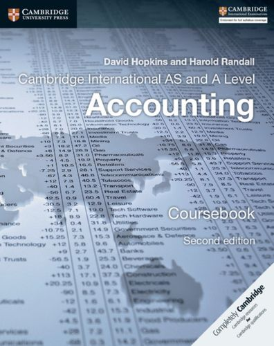 9781316611227 Cambridge International AS and A Level Accounting Coursebook