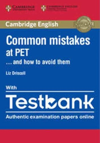 9781316635872 Common Mistakes at PET... and How to Avoid Them Paperback with Testbank
