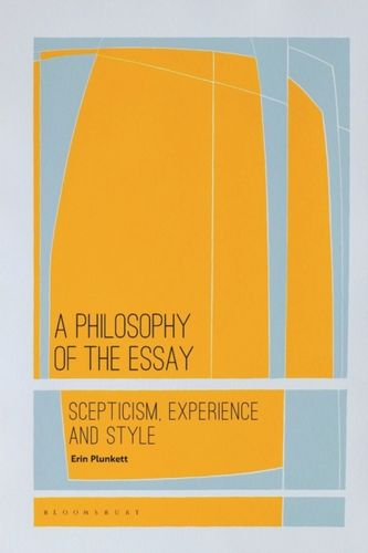9781350170483 Philosophy of the Essay