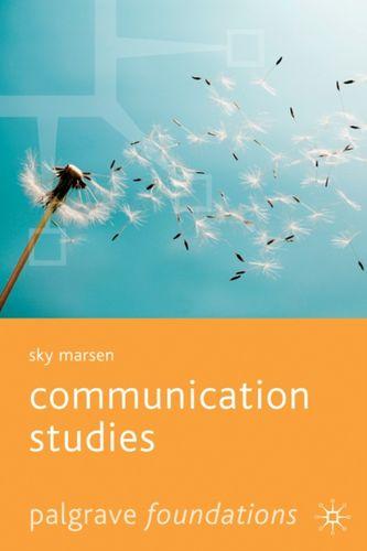 9781403939982 Communication Studies