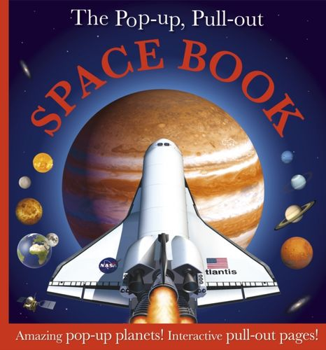 9781405351782 Pop-up, Pull-out Space Book